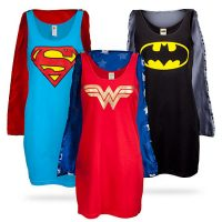 Superheroine Sleep Tank Tops