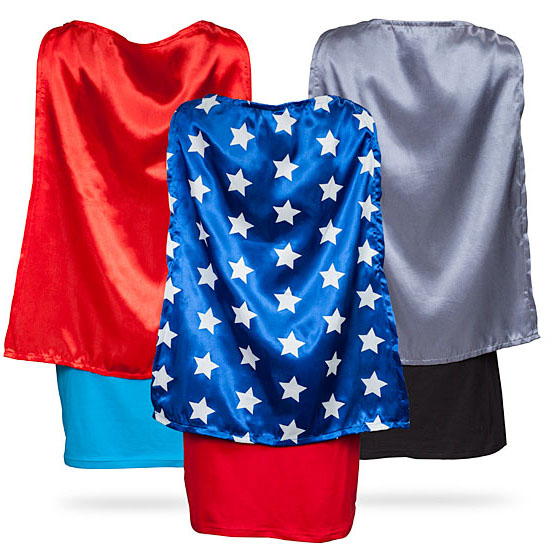 Superheroine Sleep Tank Tops with Capes