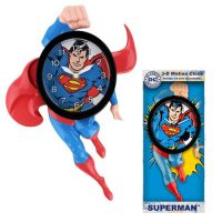 Superman 14-Inch Motion Clock
