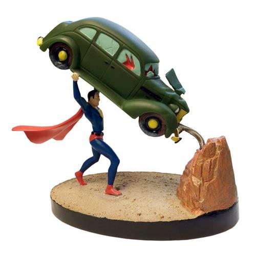 Superman Action Comics 1 Premium Motion Statue