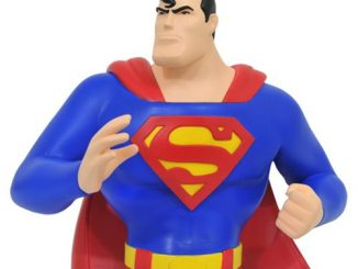 Superman Animated Bust Bank