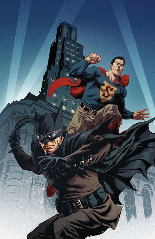 Superman Batman Worlds Finest Poster