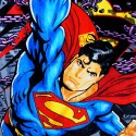 Superman Beach Towel