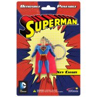 Superman Bendable Figure Key Chain