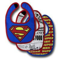 Superman Bib 3 Pack