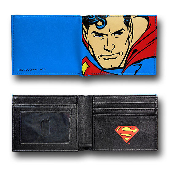 Superman Big Kryptonian BiFold Wallet