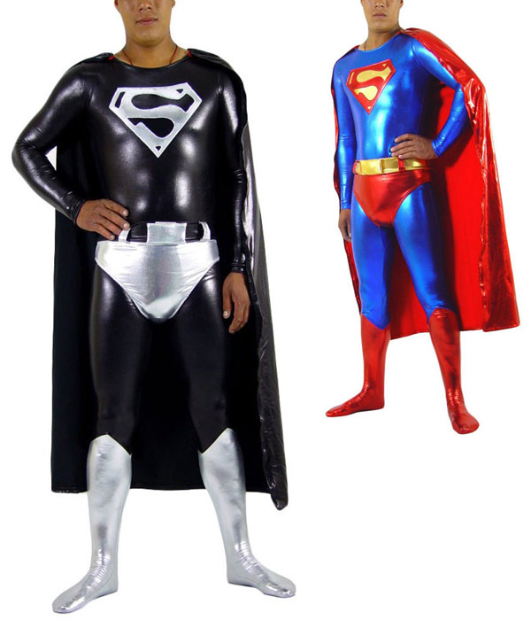 Superman Bodysuit with Cape