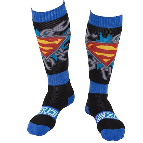 Superman Boot Socks