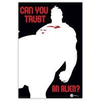 Superman Can you Trust an Alien Archival Print