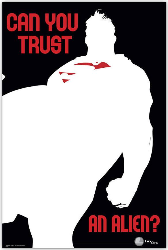 Superman Can you Trust an Alien Print