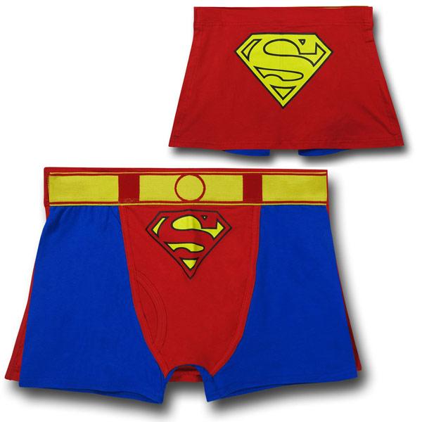 Superman Caped Boxer Briefs Underwear