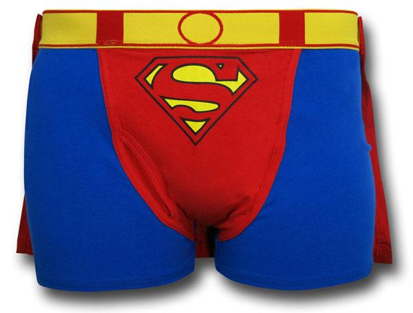Superman Caped Boxer Briefs