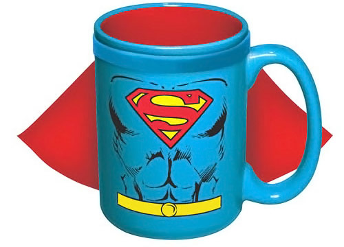 Superman Caped Ceramic Mug