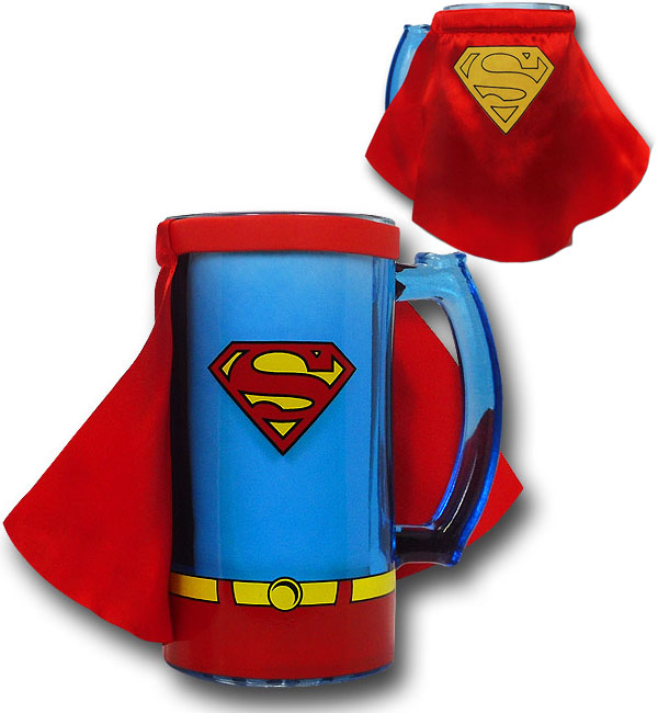 Superman Caped Costume Mug With Handle