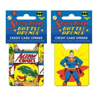 Superman Car Lift Credit Card Bottle Opener
