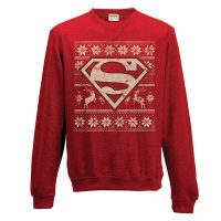 Superman Christmas Jumper