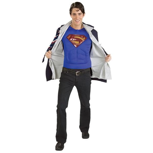 Superman / Clark Kent Reversible Costume