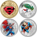 Superman Comic Book Cover Coins