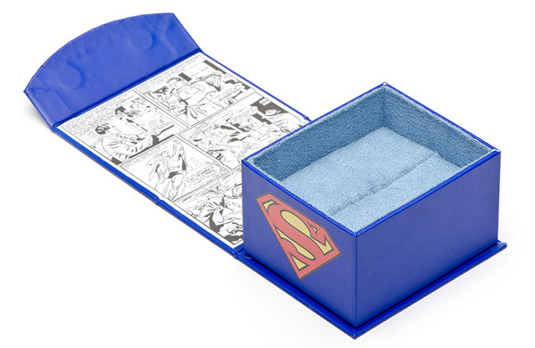 Superman Comic Book Cover Cufflinks