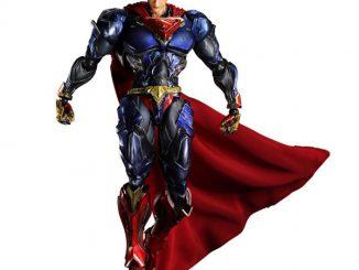 Superman DC Comics Play Arts Kai Variant Action Figure