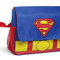 Superman Diaper Bag