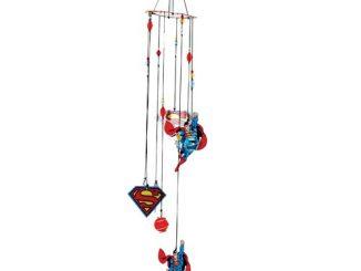 Superman Figural Metal Wind Chimes