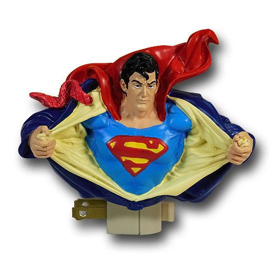 Superman Figural Night Light