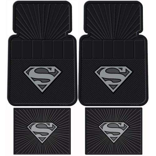 Superman symbol floor mats - Superman interior designs ...