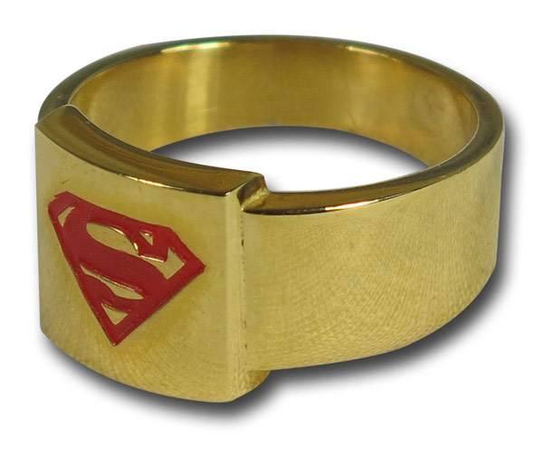 Superman Gold Ring