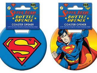 Superman Iconic Coaster Bottle Openers
