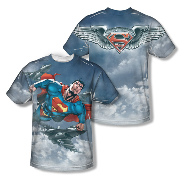 Superman In Formation T-Shirt