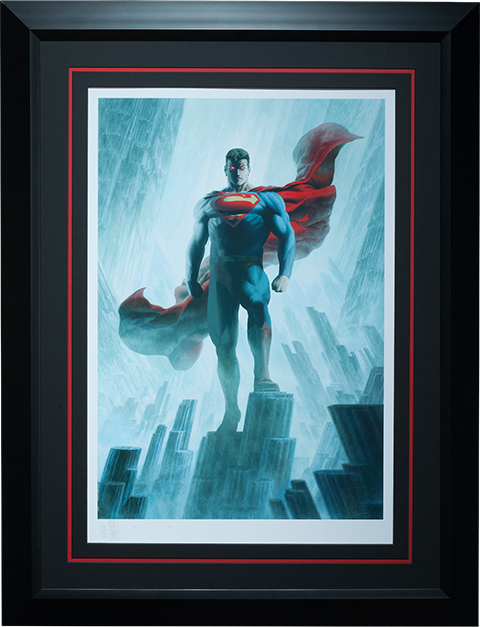 Superman Justice League Trinity Premium Print