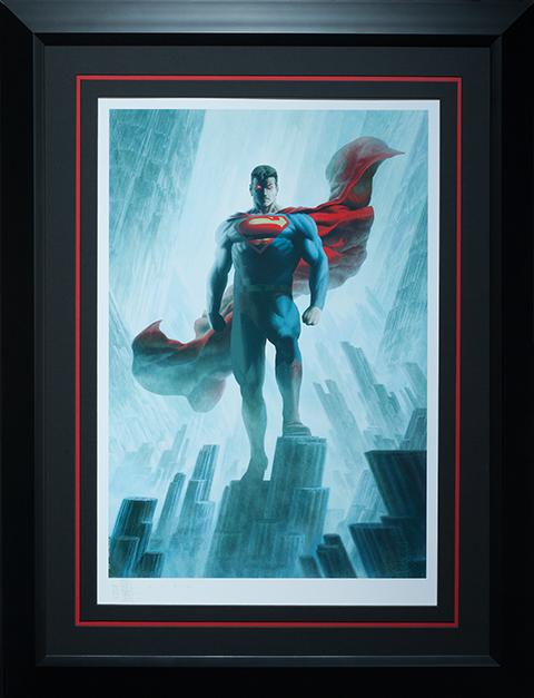 Superman Justice League Trinity Premium Print