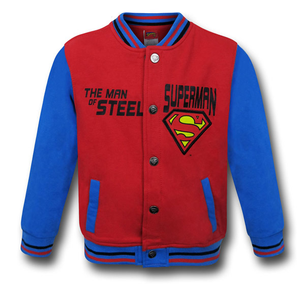 Superman Kids Stadium Jacket