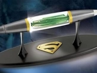 Superman Kryptonite Capsule Pen