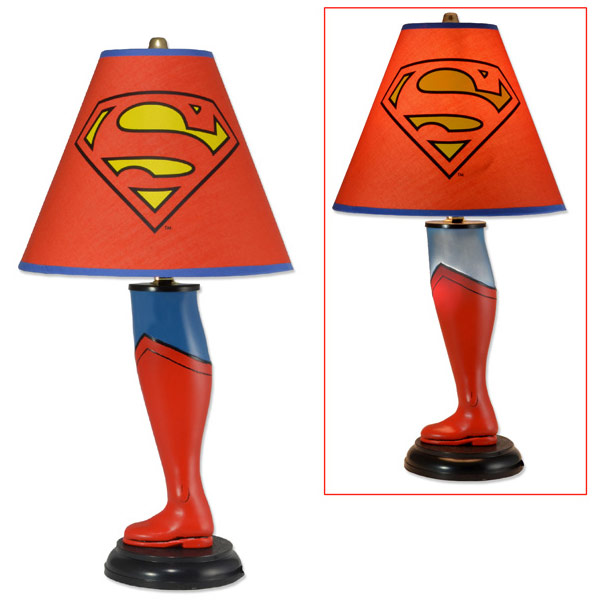 Superman Leg Lamp