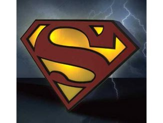 Superman Logo Light