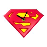 Superman Logo Wobble Wall Clock