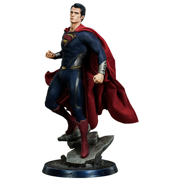 Superman Man Of Steel Premium Format Statue