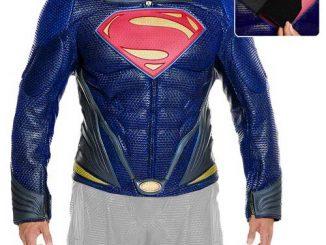 Superman Man of Steel Movie Leather Jacket Prop Replica