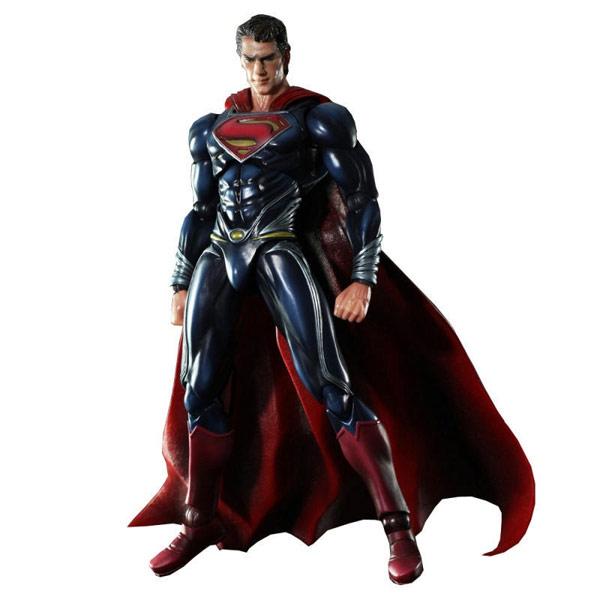 Superman Man of Steel Play Arts Kai Action Figure
