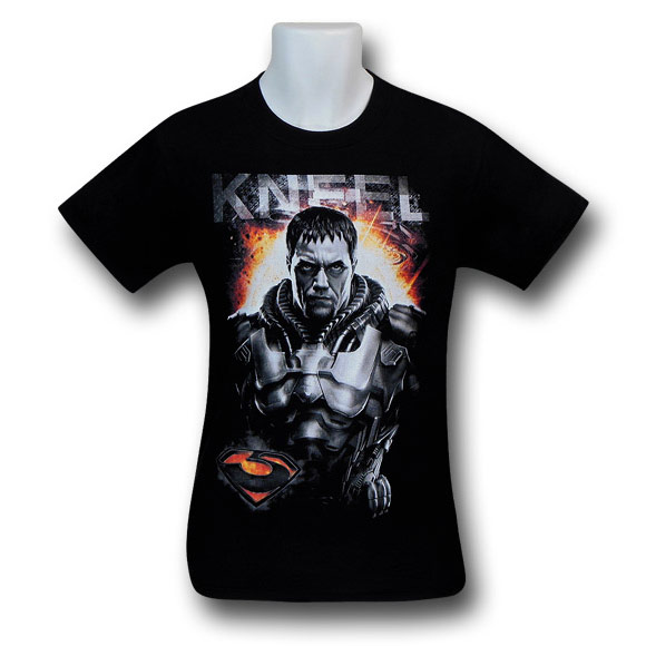 Superman Man of Steel Zod Kneel TShirt