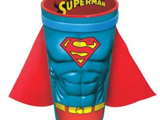 Superman Molded Caped 16 oz. Pint Glass