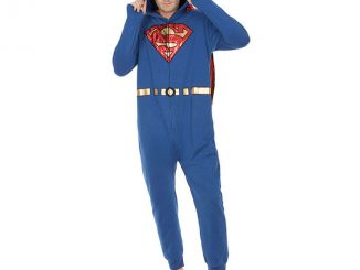 Superman Onesie with Removable Cape