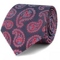 Superman Paisley Tie