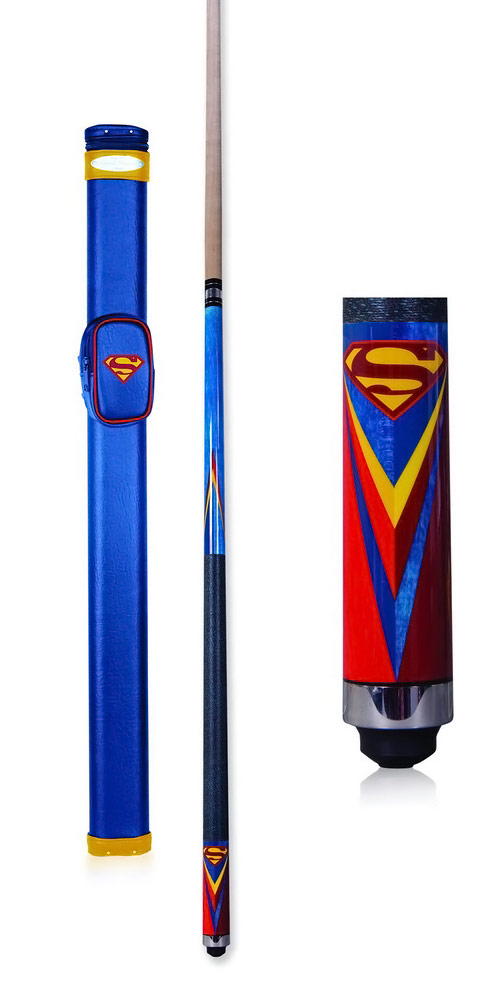 Superman Pool Stick