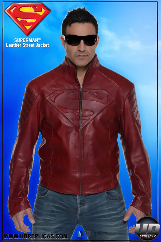 Superman Replica Smallville Leather Jacket