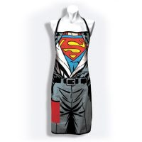 Superman Revealed Cooks Apron with Pocket