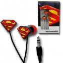 Superman Rubber Symbol Earphones