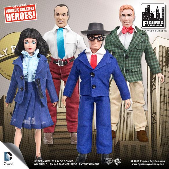 Superman Series 2 Retro Action Figures